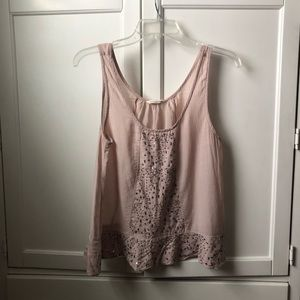 American Eagle Tank Top with Sequins